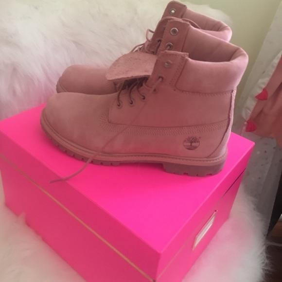 abgeholt am besten authentisch am besten einkaufen Women's pink timberland boots